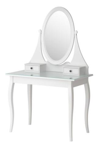 IKEA white vanity