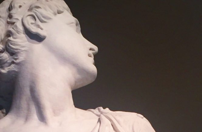 """Photo I snapped of Hamo Thornycroft's """"Lot's Wife"""" at the V&A in London last month."""